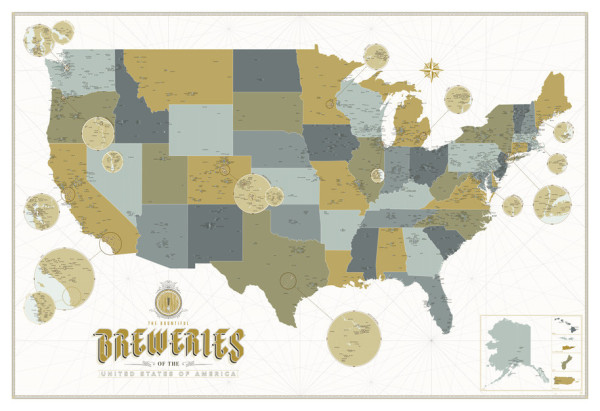 the bountiful breweries of the usa // union jack creative