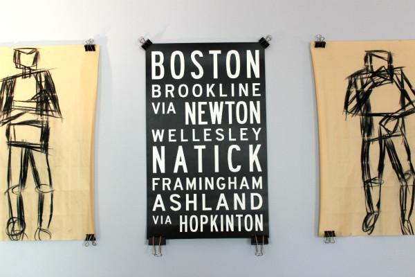 boston marathon poster // union jack creative